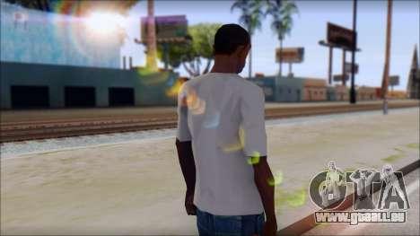 Muse Resistance T-Shirt pour GTA San Andreas deuxième écran