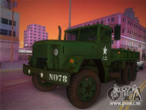 AM General M35A2 1986 pour GTA Vice City