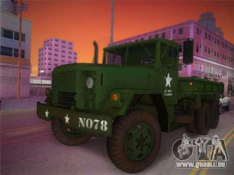 AM General M35A2 1986 pour GTA Vice City