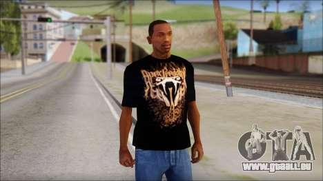 Randy Orton Black Apex Predator T-Shirt für GTA San Andreas
