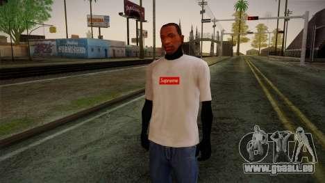 Supreme T-Shirt für GTA San Andreas