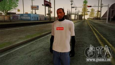Supreme T-Shirt pour GTA San Andreas