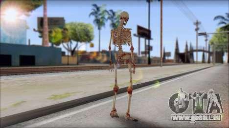 Skeleton from Sniper Elite v2 pour GTA San Andreas deuxième écran