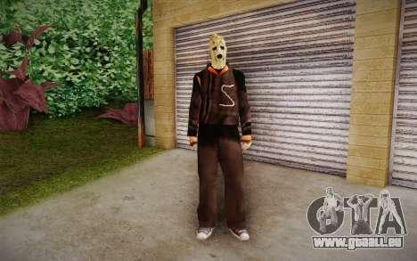 Corey Taylor Skin pour GTA San Andreas