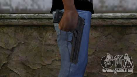 Marisa M9 Custom Master Spark pour GTA San Andreas troisième écran