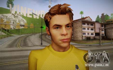 James T. Kirk From Star Trek für GTA San Andreas dritten Screenshot