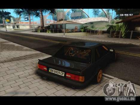 BMW e30 UDC für GTA San Andreas rechten Ansicht
