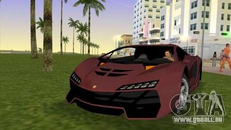Zentorno from GTA 5 v2 pour GTA Vice City