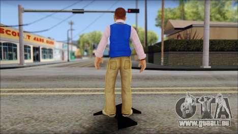 Petey from Bully Scholarship Edition für GTA San Andreas dritten Screenshot