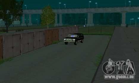 New FBI Rancher pour GTA San Andreas vue arrière