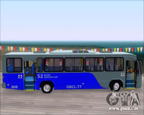 Neobus Spectrum City Mercedes Benz OF-1722 pour GTA San Andreas vue de dessous