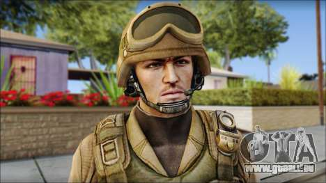 Desert Gafe Soldier Front 2 pour GTA San Andreas troisième écran