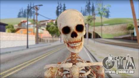 Skeleton from Sniper Elite v2 pour GTA San Andreas troisième écran