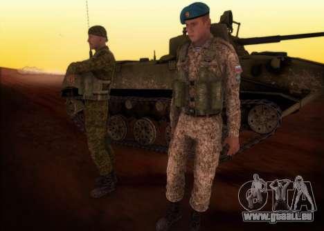 Grenadier VDV für GTA San Andreas zweiten Screenshot