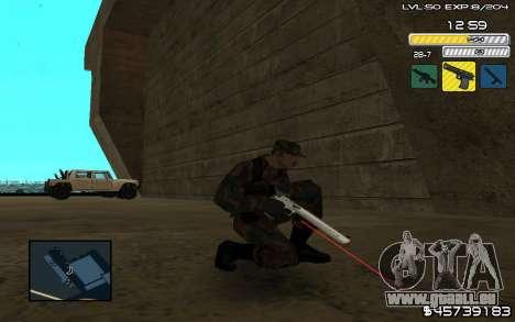 C-HUD by SampHack v.9 für GTA San Andreas