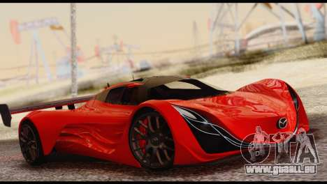 Mazda Furai 2008 pour GTA San Andreas
