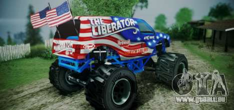 The Liberator - DLC Independence für GTA San Andreas linke Ansicht