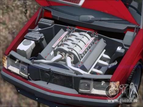 Mercedes Benz 190E Drift V8 für GTA San Andreas Motor