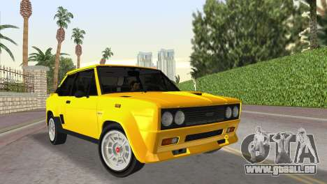 Fiat 131 Abarth Rally 1976 pour GTA Vice City