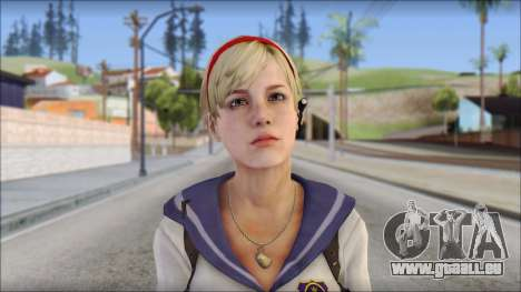 Sherry Birkin Mercenaries from Resident Evil 6 pour GTA San Andreas troisième écran
