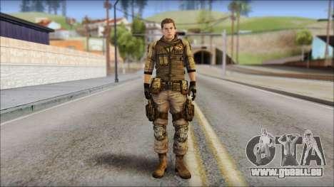 Piers Nivans Resident Evil 6 pour GTA San Andreas