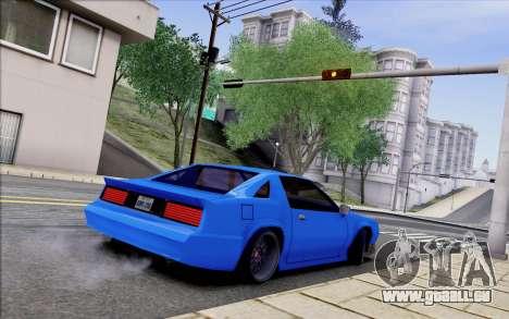 Buffalo Drift Style für GTA San Andreas Rückansicht