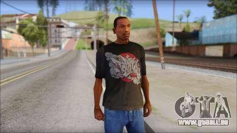 New Ecko T-Shirt pour GTA San Andreas