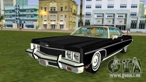 Chevrolet Caprice Classic 1973 pour GTA Vice City