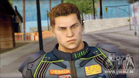 Piers Azul no Gorra pour GTA San Andreas troisième écran