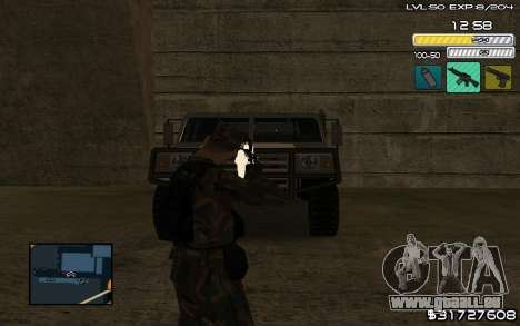 C-HUD by SampHack v.9 pour GTA San Andreas deuxième écran