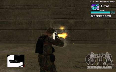 Perfect C-HUD für GTA San Andreas dritten Screenshot