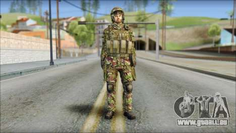 Forest SAS from Soldier Front 2 für GTA San Andreas