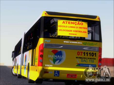 Прицеп Neobus Mega BHNS Volvo B12-340M pour GTA San Andreas roue