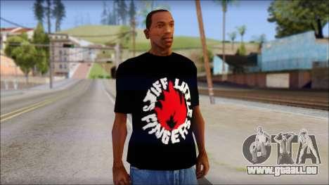 Stiff Little Fingers T-Shirt für GTA San Andreas