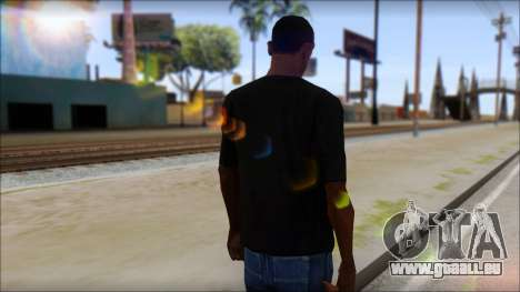 BrainoNimbus T-Shirt pour GTA San Andreas deuxième écran