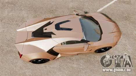 Lykan HyperSport für GTA 4 rechte Ansicht