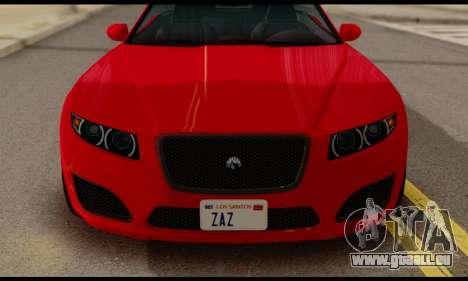 Lampadati Felon GT 1.1 für GTA San Andreas rechten Ansicht