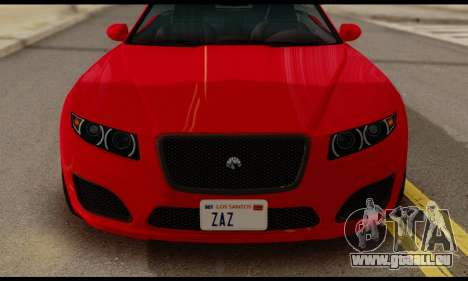 Lampadati Felon GT 1.1 pour GTA San Andreas vue de droite