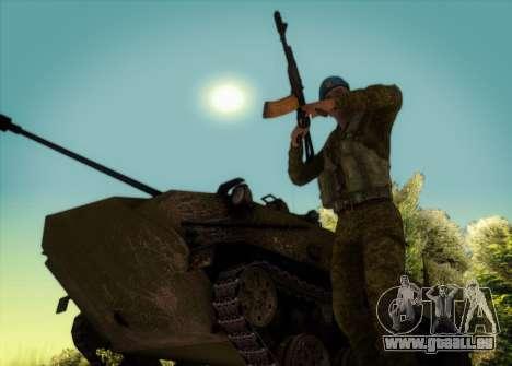 Grenadier VDV für GTA San Andreas dritten Screenshot