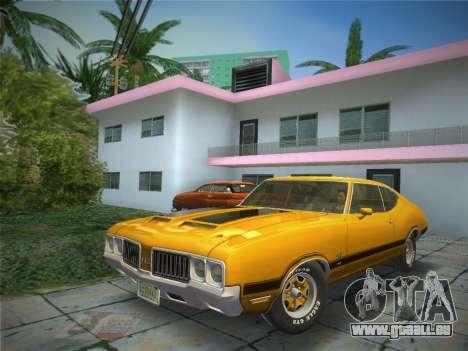 Oldsmobile 442 1970 pour GTA Vice City
