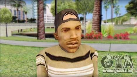 CJ Dwarf v2 pour GTA San Andreas troisième écran