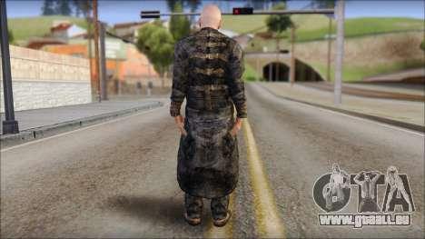 Father Martrin From Outlast pour GTA San Andreas deuxième écran