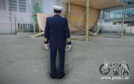 Commercial Airline Pilot from GTA IV für GTA San Andreas zweiten Screenshot