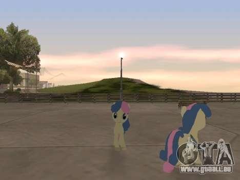 Bonbon pour GTA San Andreas quatrième écran