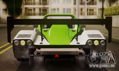 Radical SR8 Supersport 2010 für GTA San Andreas Innenansicht