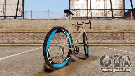 GTA V Tri-Cycles Race Bike für GTA 4 hinten links Ansicht