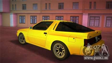 Mitsubishi Starion ESI-R 1986 für GTA Vice City linke Ansicht