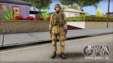 Desert Gafe Soldier Front 2 für GTA San Andreas