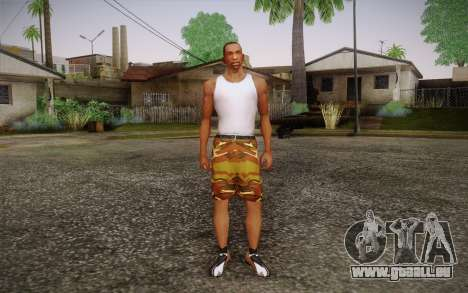 Camo Shorts Pants pour GTA San Andreas