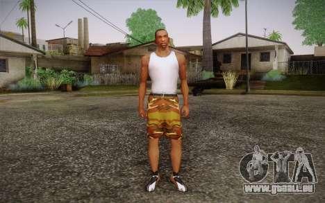 Camo Shorts Pants pour GTA San Andreas